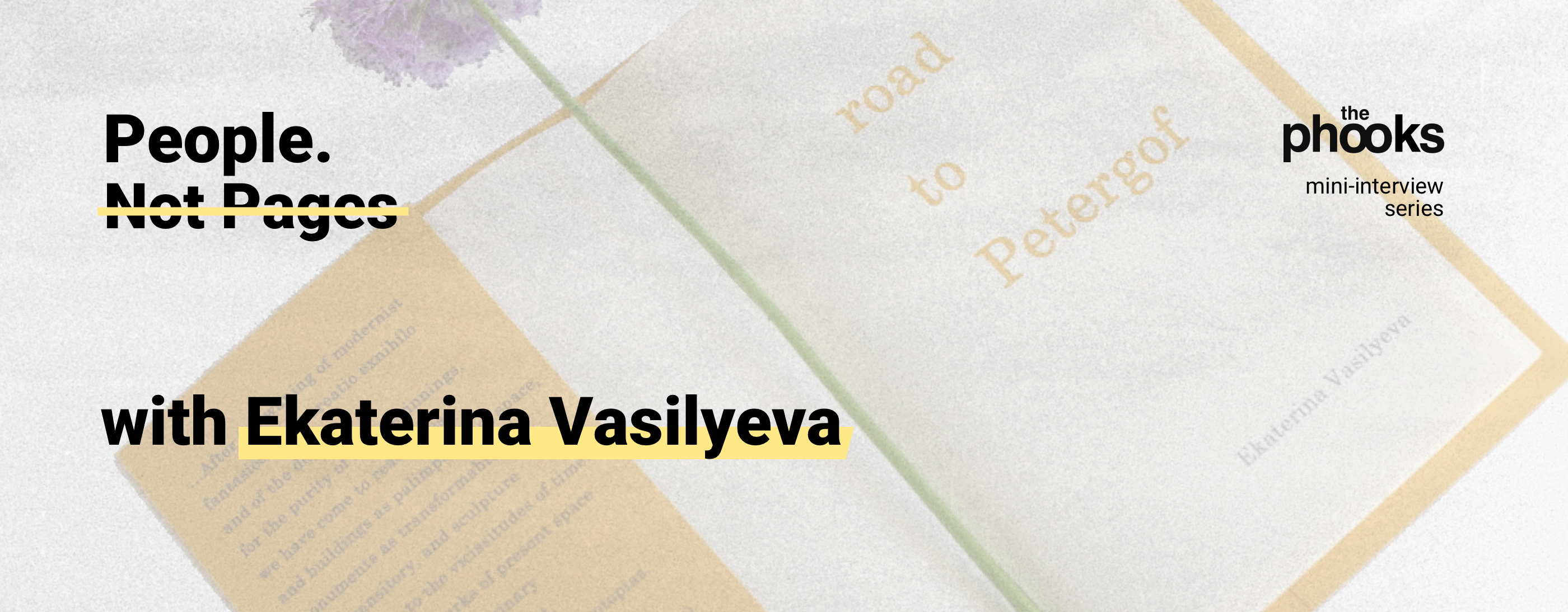 Interview with Ekaterina Vasilyeva