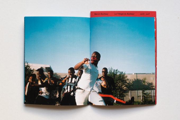 La Trilogie du Bonheur — a photozine by Marvin Bonheur