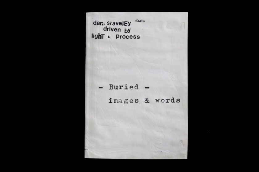 Burried — a photobook by Daniel Staveley