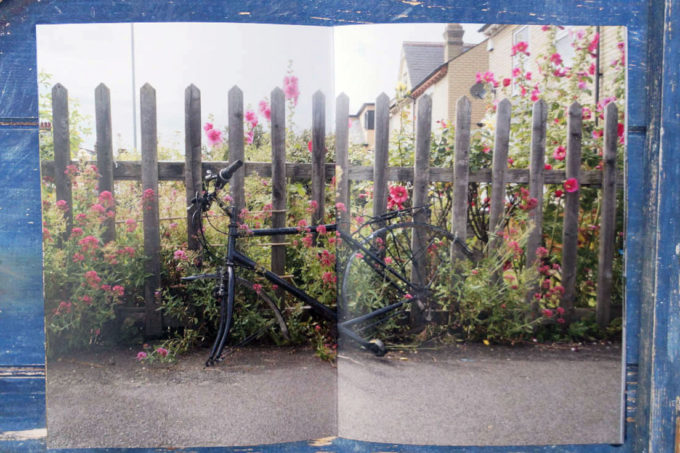 cambridge junc photozine bicycle spread