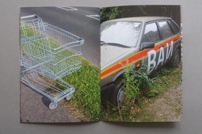 kings lynn junc photozine trolley and car