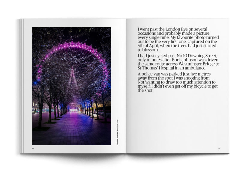 Pause. London during lockdown — a photobook by Jan Enkelmann