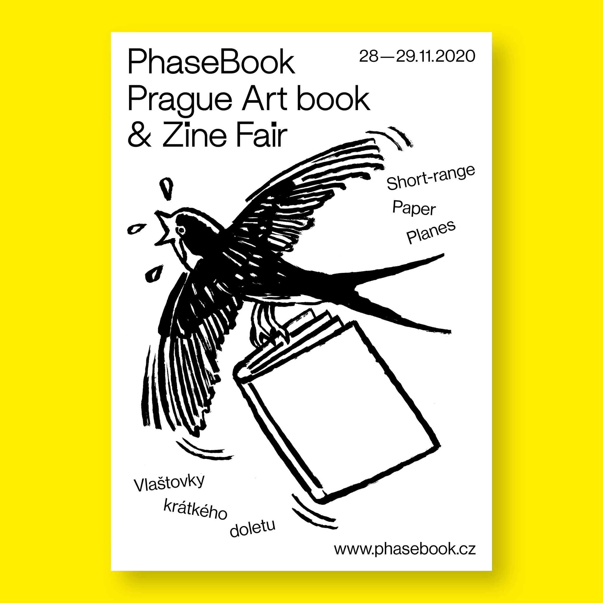 PhaseBook 2020: Prague Art book & Zine Fair