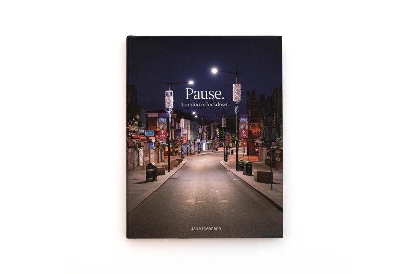 Pause. London in Lockdown photobook by Jan Enkelmann