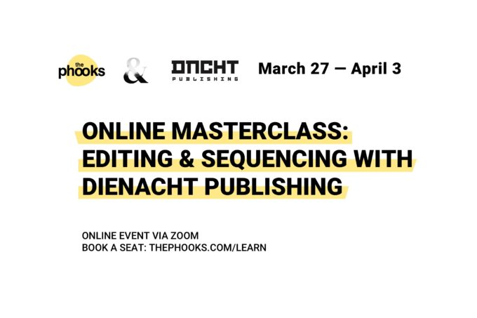 Online Masterclass: Editing & Sequencing for Photographers with dienacht Publishing