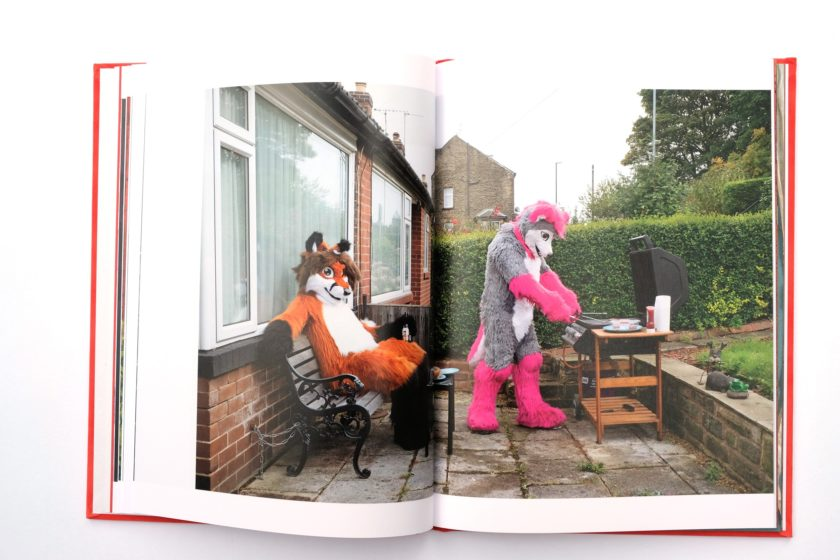 At Home With The Furries — photobook by Tom Broadbent