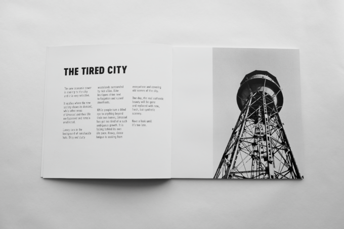 The Tired City — Phootobook by Max Zhiltsov