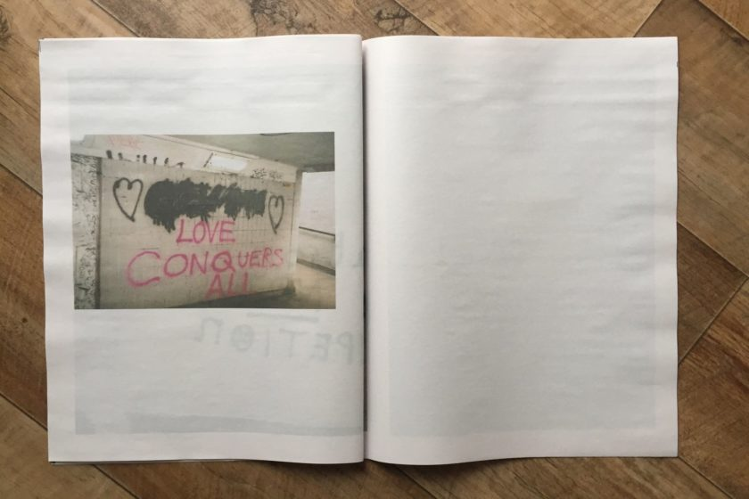 Bad Graffiti — photozine by Liam Ashley Clark, Tyro Collective