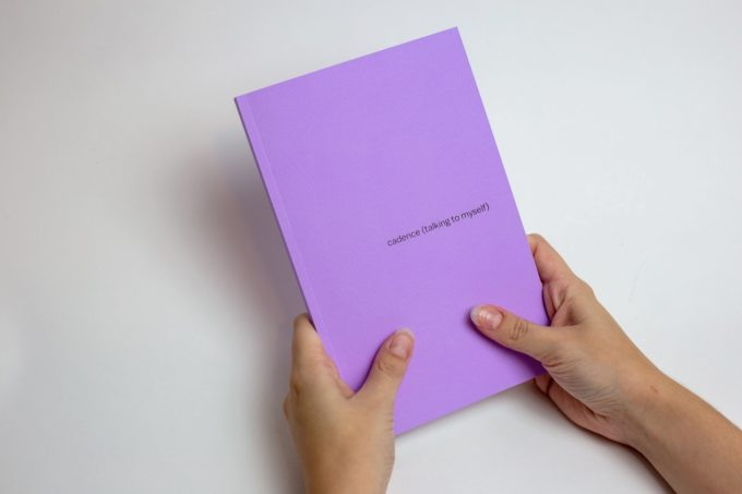 Cadence (Talking To Myself) — artist book by Nat Raum